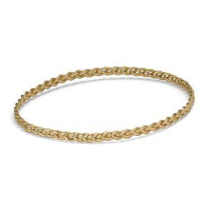 Braided Bracelet, 18 karat gull
