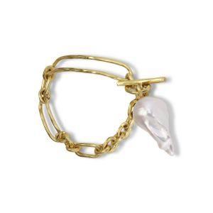 Pearl Bridle Bracelet, 18 karat gull