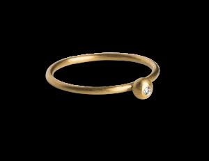 Princess Ring, forgylt sterlingsølv