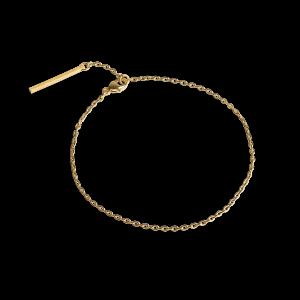 Anchor Chain  Bracelet, forgylt sterlingsølv