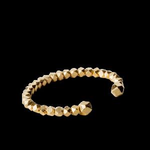 Chunky Bead Bracelet, forgylt sterling sølv