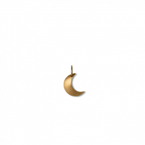 Half Moon pendant, 18-karat gold