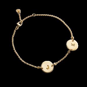 Lovetag Bracelet with 2 Lovetags