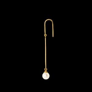 Pearl Earring, 18-karat gold
