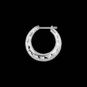 Reflection Rhombus earring, sterlingsølv