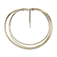 Exclusive Wire Choker, 18 Karat Gull