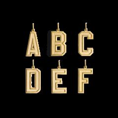 Letter Pendant