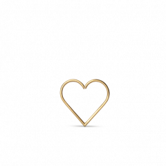 Heart of Love Twist Earring, 18-karat gold