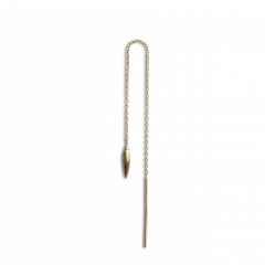 Chain Earring with Weight