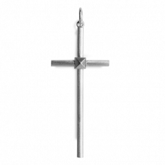 Big Simple Cross, sterling silver