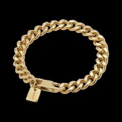 F+E Chain Bracelet, forgylt sterlingsølv
