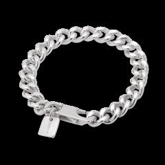 F+E Chain Bracelet, sterlingsølv