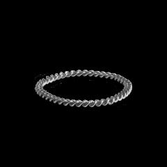 Small Chain Ring, sterlingsølv