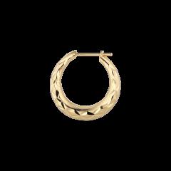 Reflection Rhombus earring, forgylt sterlingsølv
