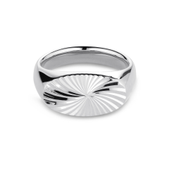Reflection Signet ring, sterlingsølv