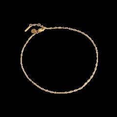 Souvenir Anklet, forgylt sterlingsølv